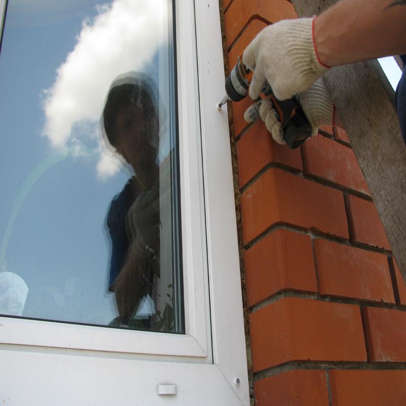 Установка нащельников на пластиковые окна своими руками 15