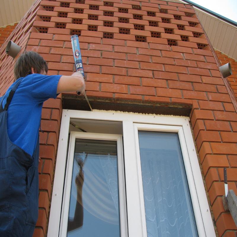 Установка нащельников на пластиковые окна своими руками 57